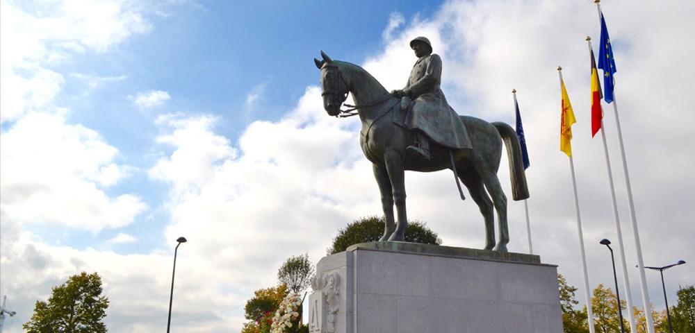 statue roi albert 1er