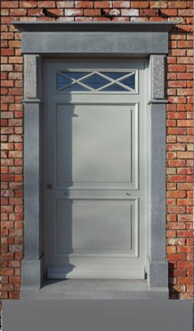 Carri re briot pierre bleue belge - Contour de porte interieur ...